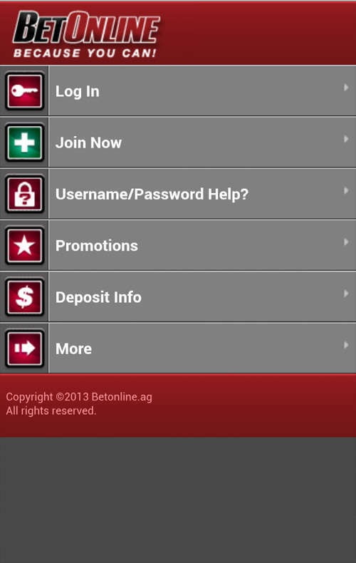 BetOnline Mobile Review - Critique Of Software, Banking & Service