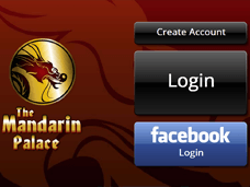 Mandarin Palace Android Login
