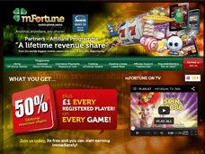 mFortune Homepage