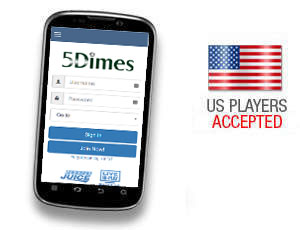 5dimes Mobile Review Can You Bet On Your Android